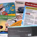 Betriebszeitschriften, Vereinszeitschriften, Abitur-, Schulzeitungen